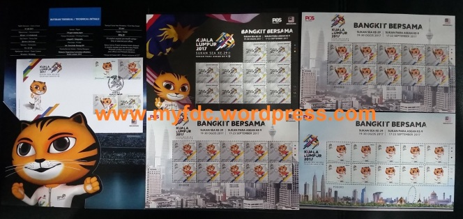 18 August 2017: Media Preview of the SEA Games 2017 StampIssue