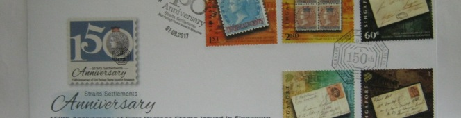 01 September 2017: Singapore Post starts the sale of the 150 Years of PostageStamps