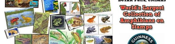 Come to Kota Samarahan for an A to Z in Amphibian Philately and a Guinness World Record in theMaking