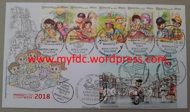 Wrap-up on Stamp Week2018