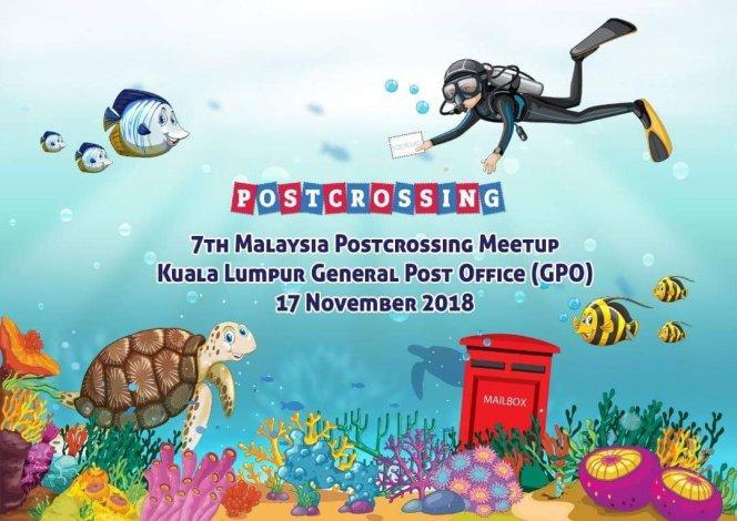 17 November 2018: 7th Malaysia Postcrossing Meetup KualaLumpur