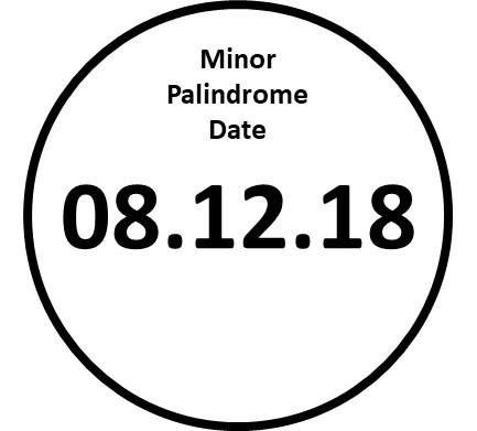 Palindrome Stamp Fair81218