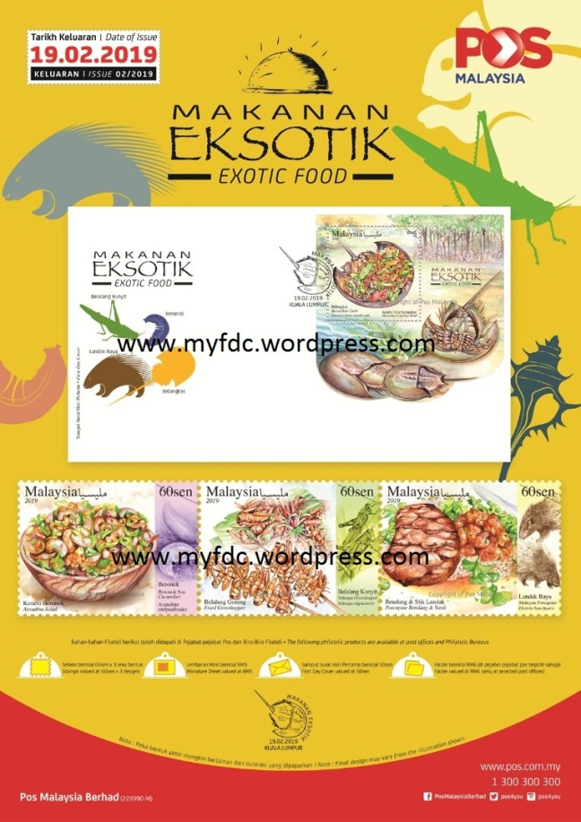 Makanan Eksotik Malaysia Myfdc