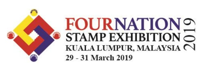 29 – 31 March 2019: Fournation Stamp Exhibition KualaLumpur