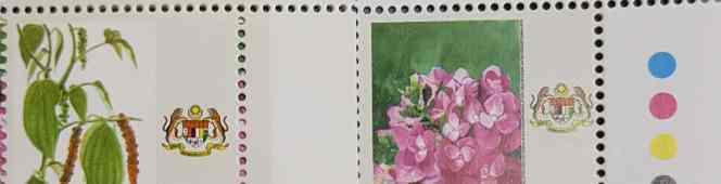 10 sen Federal Territory Garden FlowersDefinitive