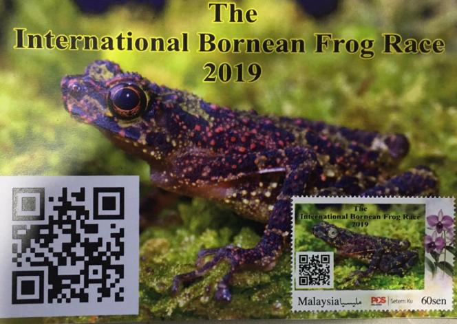 27 – 28 April 2019: Interested in matching Frog Postcard and Personalised Stamp?