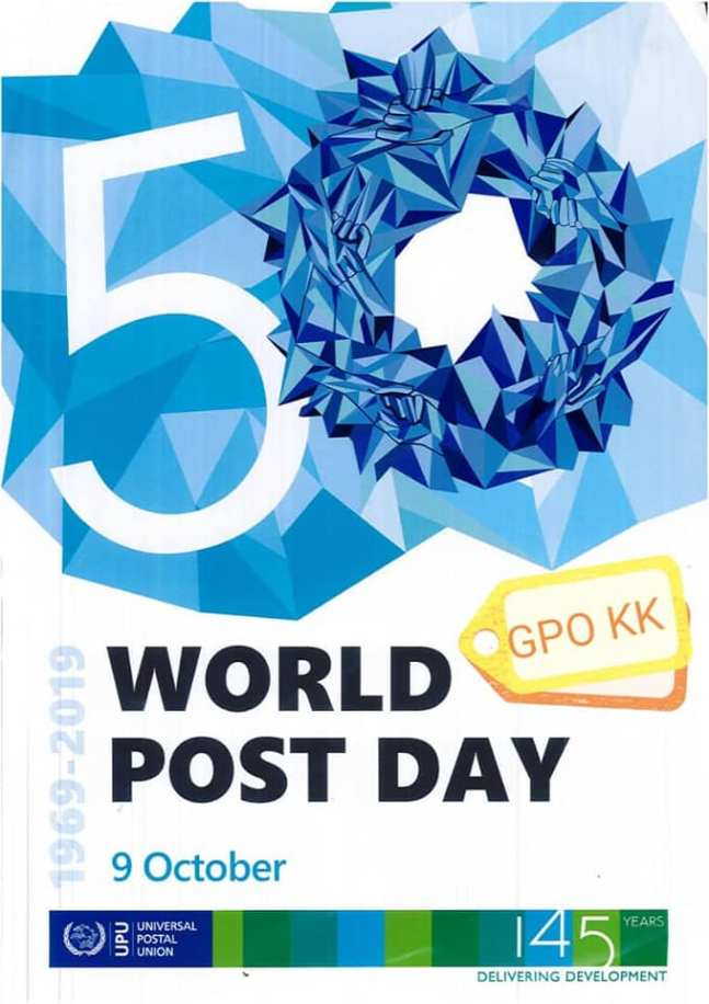 20191009 Kota Kinabalu GPO World Post Day